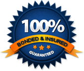 Fully Bonded and Insured cleaning services